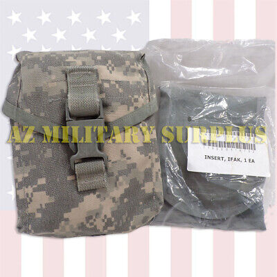 US MILITARY ISSUE IFAK < IMPROVED FIRST AID KIT > NEW INSERT, COMPLETE! [VG+NEW]