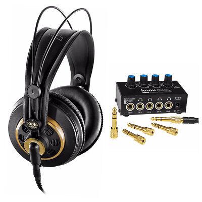 Studio Gears (AKG K240 Professional Studio Headphones with Knox Gear Headphone)