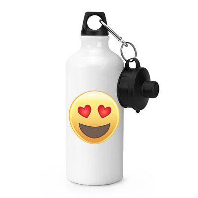 Liebe Herz Mit Augen Emoji Sport Getränke Wasserflasche ()