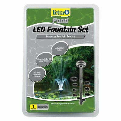 18 LED low volt POND Light Set Fountain Automatic Light Sensor Use w/ Pond Pump