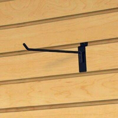 Only Hangers Commercial Deluxe Slatwall Hook 12 Black 200 Pcs