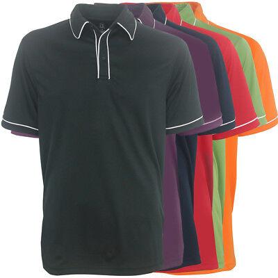 Pga Tour Dry Mens Trim Polo Golf Shirt   Brand New