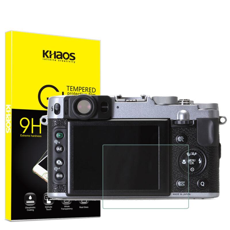 Khaos For Fujifilm X100S X100 X20 X10 X-E1 Tempered Glass Screen Protector
