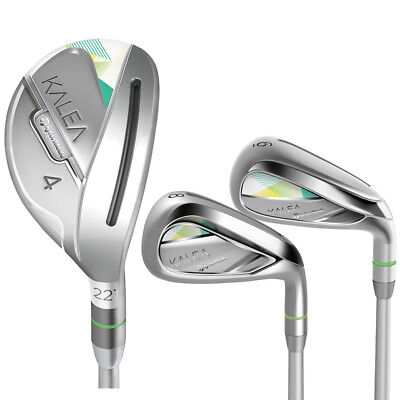 TaylorMade Golf Women's Kalea Hybrid Iron Set (4-5h-6-7T, 8-PW, SW), Graphite for sale  Shipping to South Africa