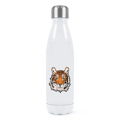 Doppel-wand-wasser (Tiger-Gesicht Doppelwand Wasserflasche Lustig Tier Thermo)