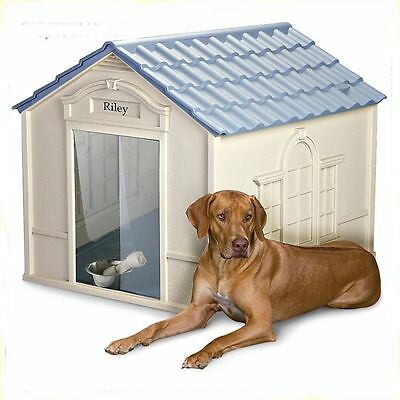 OUTDOOR DOG HOUSE  X-Large Pet All Weather Durable Shelter Doghouse Kennel NEW