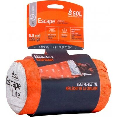 SOL Escape Lite Bivvy Emergency Survival Liner