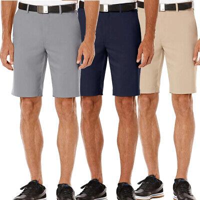 Callaway Golf Men's Stretch Waist Flat Front Solid Shorts NEW