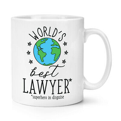 World's Mejor Abojado 284ml Taza Chiste Divertido Favourite Abogado Law