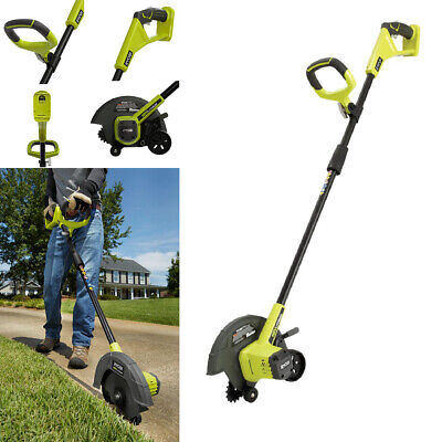 *NEW* Cordless Edger Ryobi 9 in. 18-V Lithium-Ion Power Tool Lawn Grass Cutter (Lawn Edger Tool)
