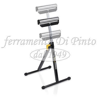 Pedestal Soporte Caballete de Rodillo Regulable 60KG Rodillos Alto Ajustable