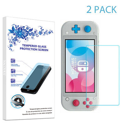 2-Pack For Nintendo Switch Lite Tempered Glass Screen Protector