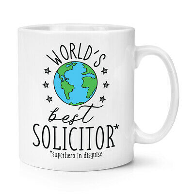 World's Mejor Abogado 284ml Taza Chiste Divertido Favourite Abojado Law