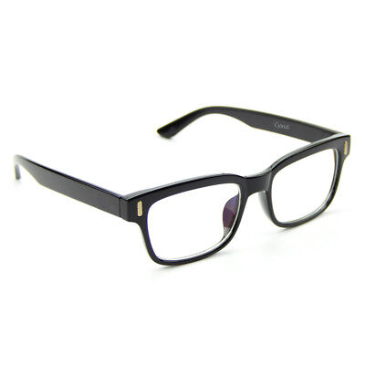 Plain Glass Spectacles (Cyxus Classic Fashion Plain Glass Spectacles Optical Glasses, Men/Women)