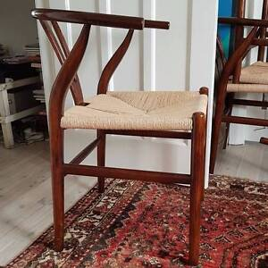 Wishbone dining chairs Avalon Pittwater Area Preview