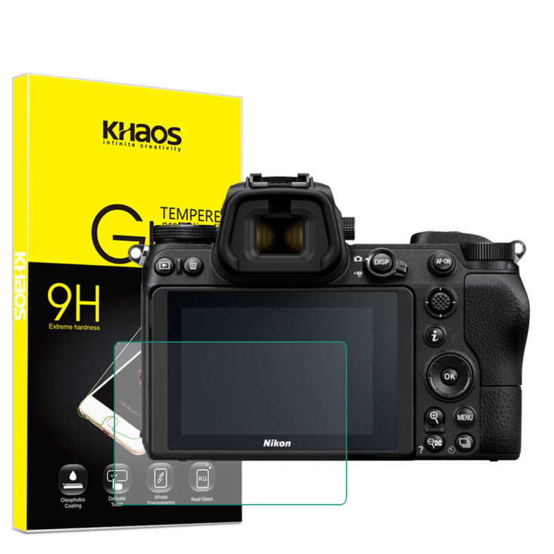 Khaos For Nikon Z6 / Z7 Digital SLR Camera Tempered Glass Screen Protector