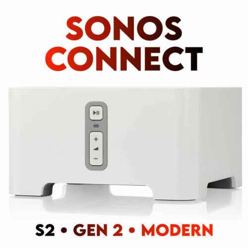 Sonos Connect - S2 - Modern Gen 2 - Perfect Condition!