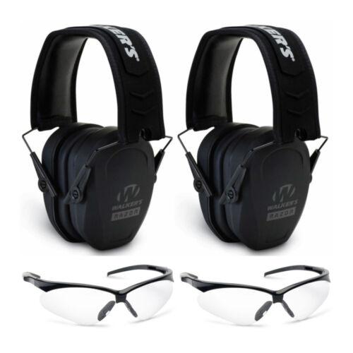Walker's Game Ear Razor Earmuffs and Protective Glasses Bund