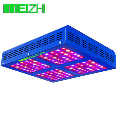 MEIZHI Riflettore 600W LED Grow Light Pettro Completo for Indoor Plant Veg&Bloom