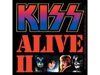 Decal Music Band Album Art SE262 Kiss Body Destroyer STICKER