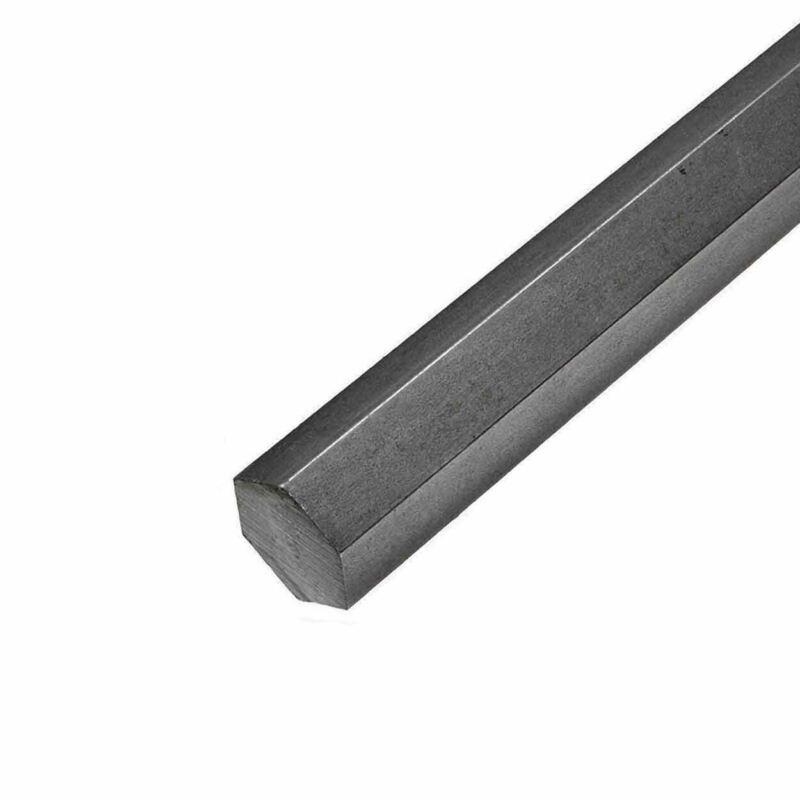 1018 Steel Hexagon Bar, 2.250 (2-1/4 inch) x 12 inches