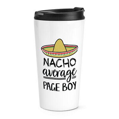 Nacho Media Paje Viaje Taza Mejor Favourite Boda Divertido Genial
