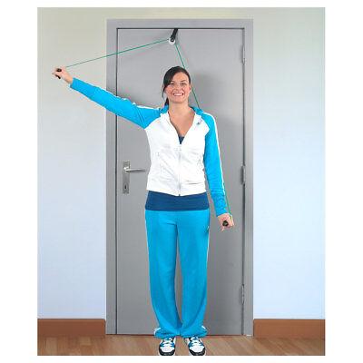 Shoulder Rope Pulley-Set Fitness Seil Gymnastik inkl. Handgriffe und Befestigung