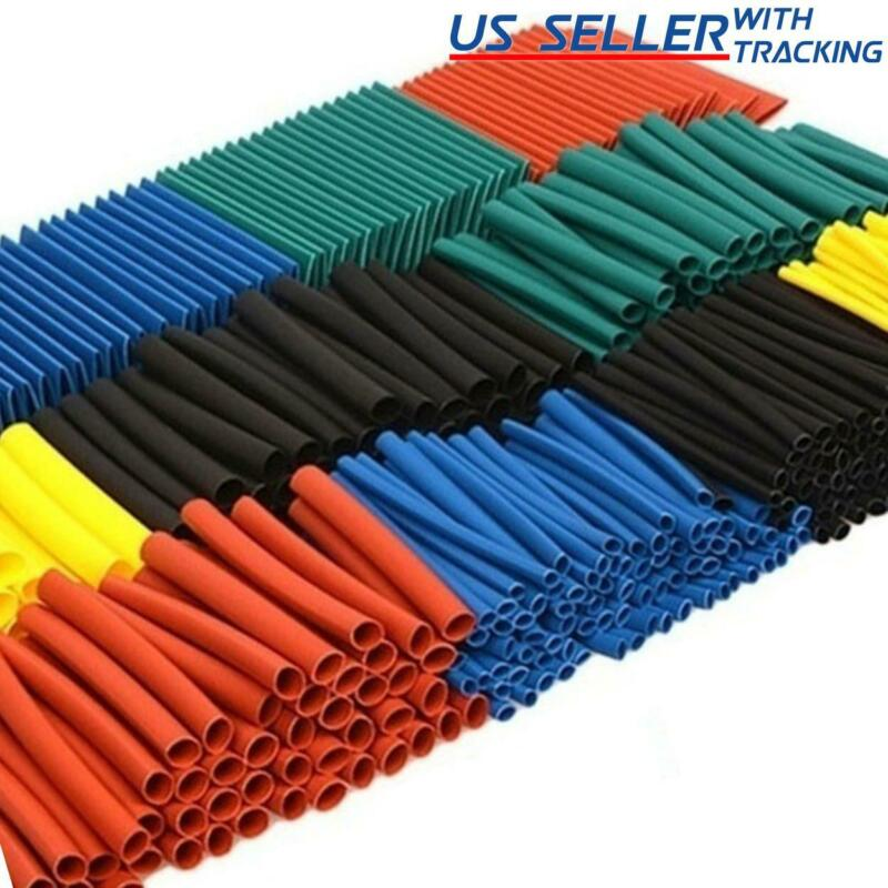 530pcs Multicolor 45mm Heat Shrink Tubing Electrical Wire Insulation Sleeve Kit