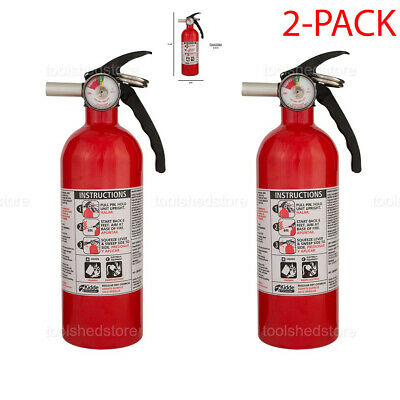 Dry Chemical Fire Extinguisher 5-bc Emergency Home Car Auto Garage Fire Safety