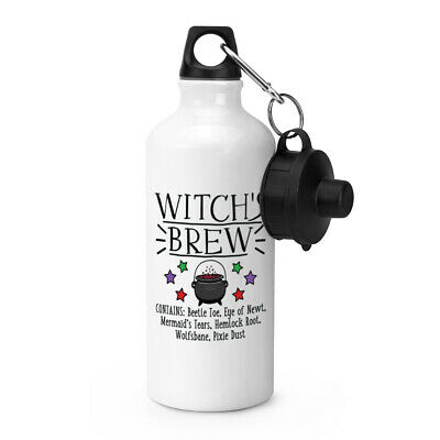 Hexen Brew Sport Wasserflasche Lustig Witz Magical Assistenten Trank Zelten