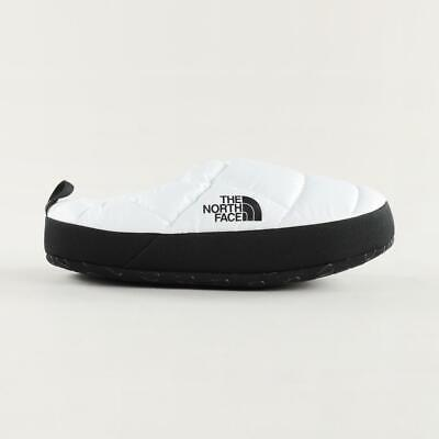 The North Face Men's Nuptse Tent Mules III Insulated Slippers White Black
