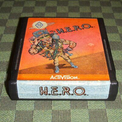 H.E.R.O. en français *** SECAM *** pour Atari 2600 VCS - hero ACTIVISION  comprar usado  Enviando para Brazil