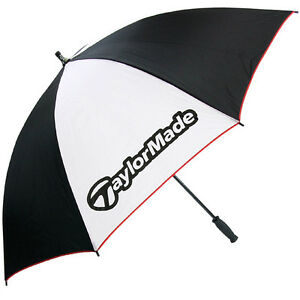 TaylorMade-Golf-Single-Canopy-60-Umbrella-Black-White-Red