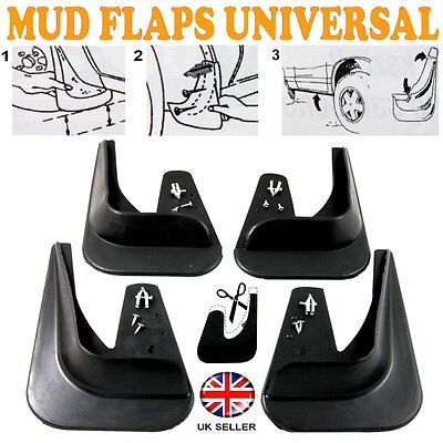 FOR Seat Leon 4 x MOULDED MUDFLAPS MUD FLAPS Rubber FRONT REAR