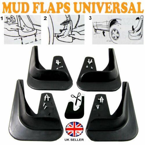 FOR Lexus GS IS RX ES 4 x MOULDED MUDFLAPS MUD FLAPS Rubber FRONT REAR