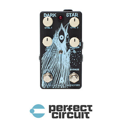 Old Blood Noise Darkstar V2 Reverb Pad EFFECTS - NEW - PERFECT CIRCUIT