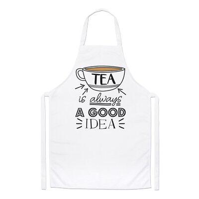 Tee Ist Immer A Good Idee Koch Schürze - Lustig Earl Grey Englisch Kochen Backen