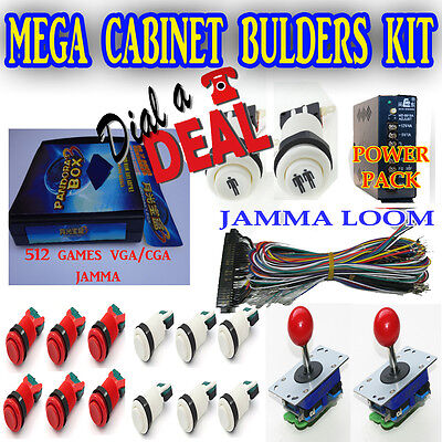 ultimate jamma arcade machine full kit for  uprights