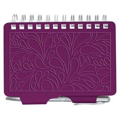 Wellspring Password Organizer Book W Pen 2961 Terrace Collection Mulberry Purple