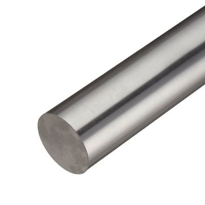Inconel 718 Nickel Round Rod Diameter 1.125 1-18 Inch Length 8 Inches