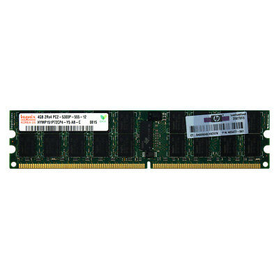 HP 408854-B21 432670-001 405477-061 4GB 2Rx4 PC2-5300 667 REG SERVER MEMORY RAM