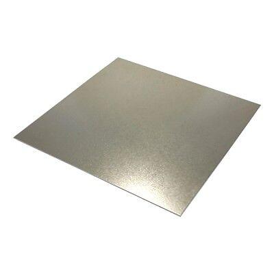 Galvanized Steel Sheet Metal 24ga. 9 X 12 Quantity 4