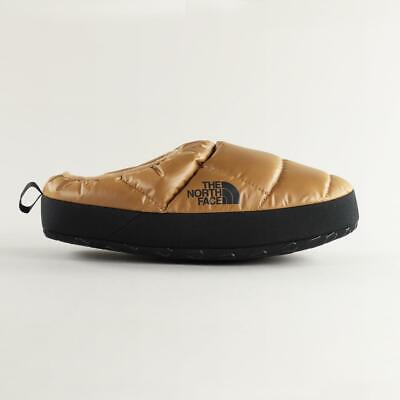 The North Face Men's Nuptse Tent Mules III Insulated Slippers Brown Black