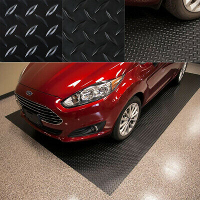 NEW Garage Diamond Heavy Duty Mat Trailer Floor Covering RV Flooring 7.5 x 14 ft Garage Floor Cover