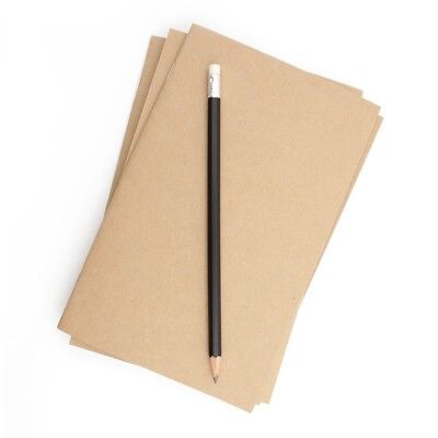 Blank Notebooks (Kraft Bulk Notebooks, 25 Pack, 5.25 x 8.5 Inch, Kraft Cover, Blank)