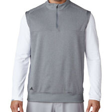 Adidas Golf Men's Outerwear 1/4 Zip Club Vest NEW