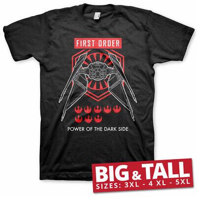Officially Licensed Star Wars IX- First Order BIG&TALL 3XL,4XL,5XL Men's T-Shirt