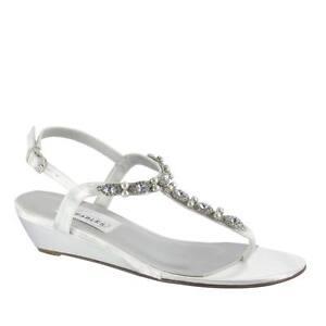 Myra-White-Silver-Rhinestone-Pearl-Prom-Beach-Bridal ...