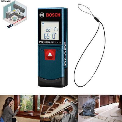 Laser Distance Tape Digital Electronic Measure Tool 65 Ft Range Finder Portable