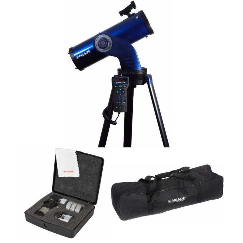 Meade StarNavigator 114mm Telescope (218003) W/Astromaster Eyepieces Kit